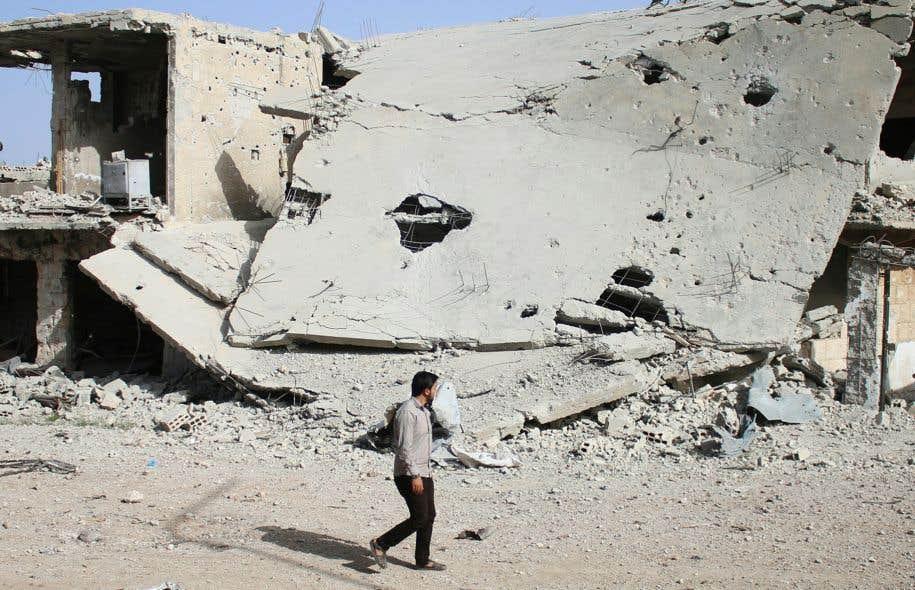 Début du cessez-le-feu dans le sud du pays — Syrie