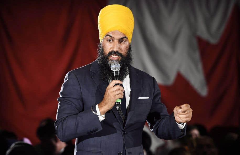 Le candidat à la direction du NPD Jagmeet Singh s'identifie trop à sa religion, selon des membres québécois de la formation politique.