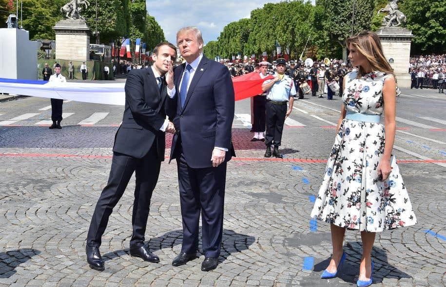 La visite du président Trump à Paris coïncide officiellement avec le centenaire de l'engagement des forces américaines dans la Première Guerre mondiale.