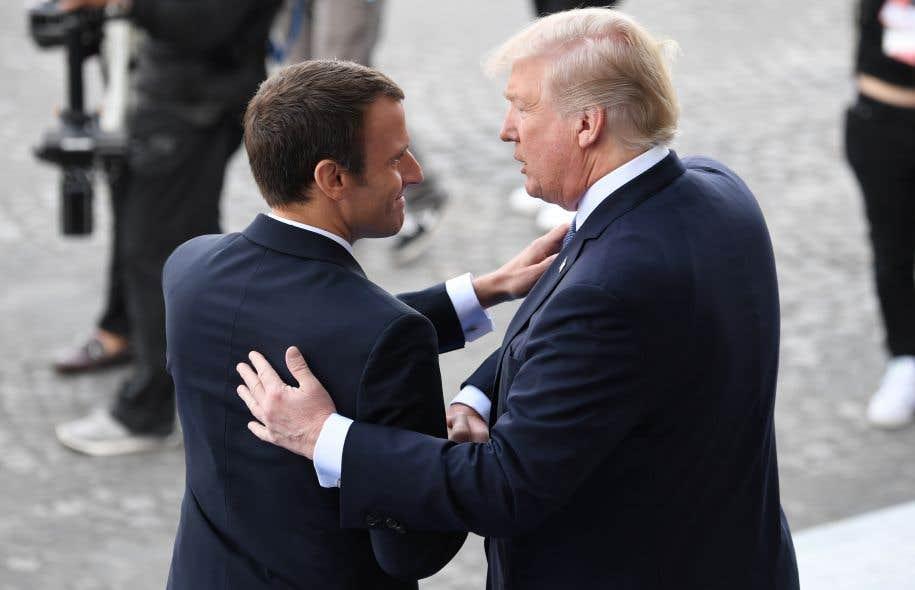 Le président américain avait déclaré que «quelque chose pourrait se passer» sur l'accord de Paris, jeudi au cours d'une conférence conjointe avec Emmanuel Macron.