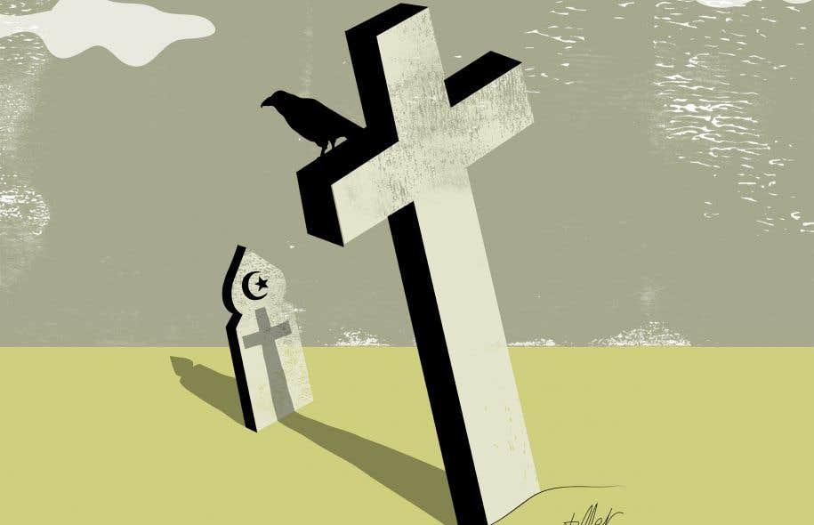 «[...] ce qui s'est passé dimanche à Saint-Apollinaire doit être vu et traité comme une conséquence du racisme systémique sur le plan national», soutient l'auteur.