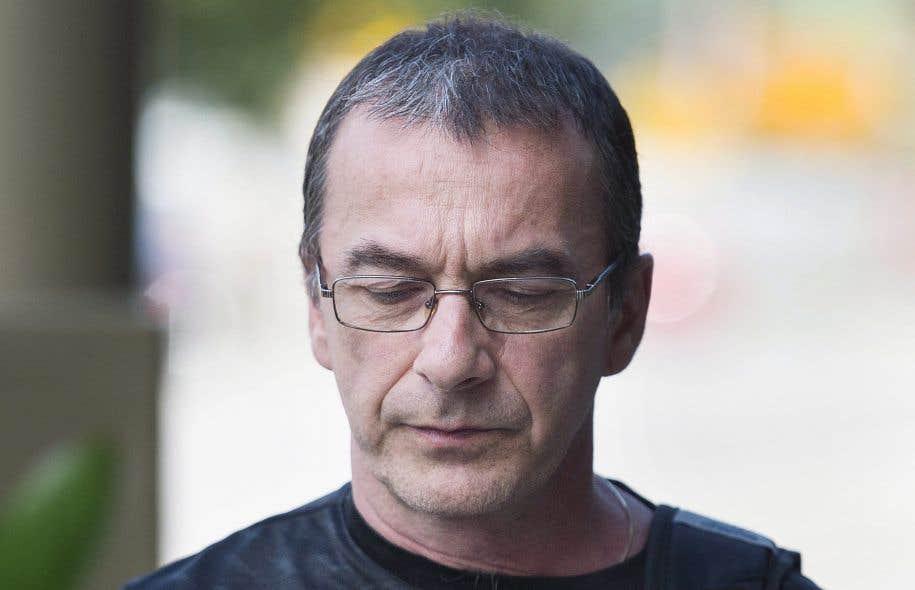<p>MichelCadotte avait été accusé en février du meurtre non prémédité de sa femme, Jocelyne Lizotte, âgée de 60ans.</p>