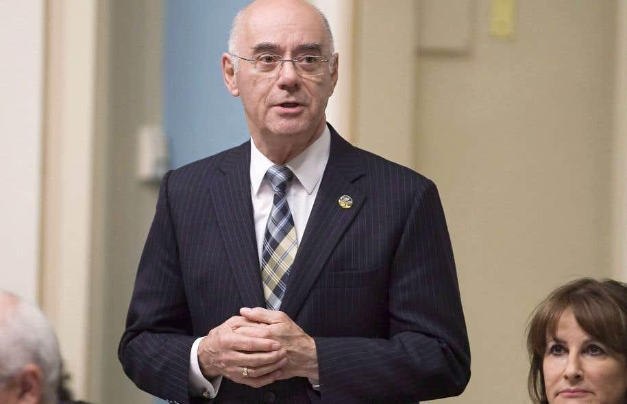 L'ancien ministre libéral Jacques Daoust