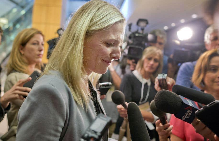 La ministrefédérale de l'Environnement, Catherine McKenna