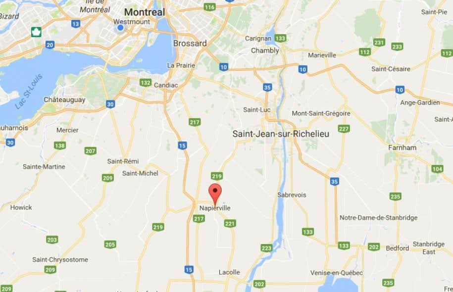 Un centre d'aide aux sinistrés a été ouvert à Napierville au cas où des évacuations seraientnécessaires.