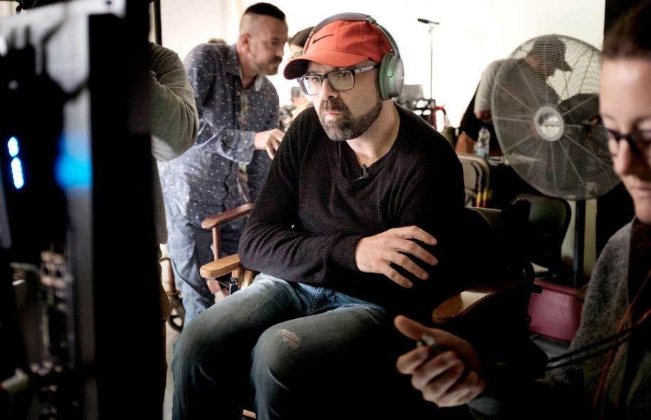 Depuis dix jours, le cinéaste Ricardo Trogi tourne «1991», le dernier volet de sa trilogie autobiographique.