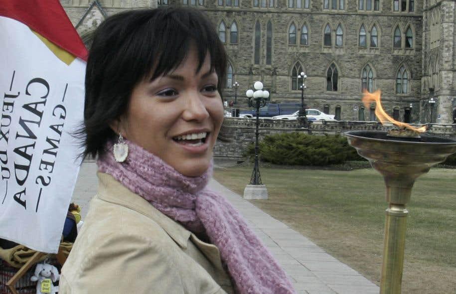 Waneek Horn-Miller, qui occupait le poste de directrice des relations avec les communautés autochtones, a remis sa démission mardi.