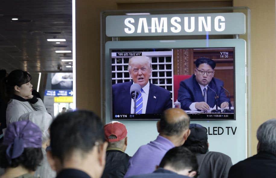 Le président américain, Donald Trump, et son homologue nord-coréen, Kim Jong-un, ont en commun leur obsession de la loyauté, s'entourant de proches qui sont souvent aussi des membres de leur famille.