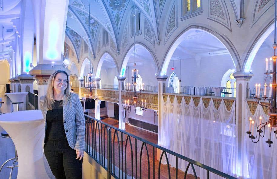 Son dernier coup de gueule, Natalie Voland l'a investi dans la vieille église Saint-Joseph de la Petite-Bourgogne à Montréal, 40000 pieds d'histoire et de souvenirs pieux laissés à l'abandon depuis huit ans.