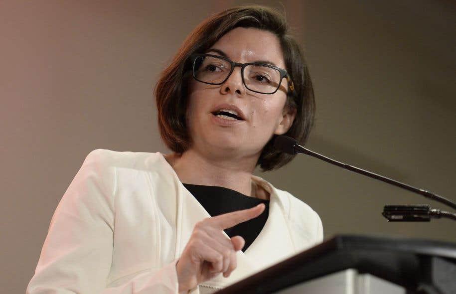 L'aspirante-chef du NPD Niki Ashton