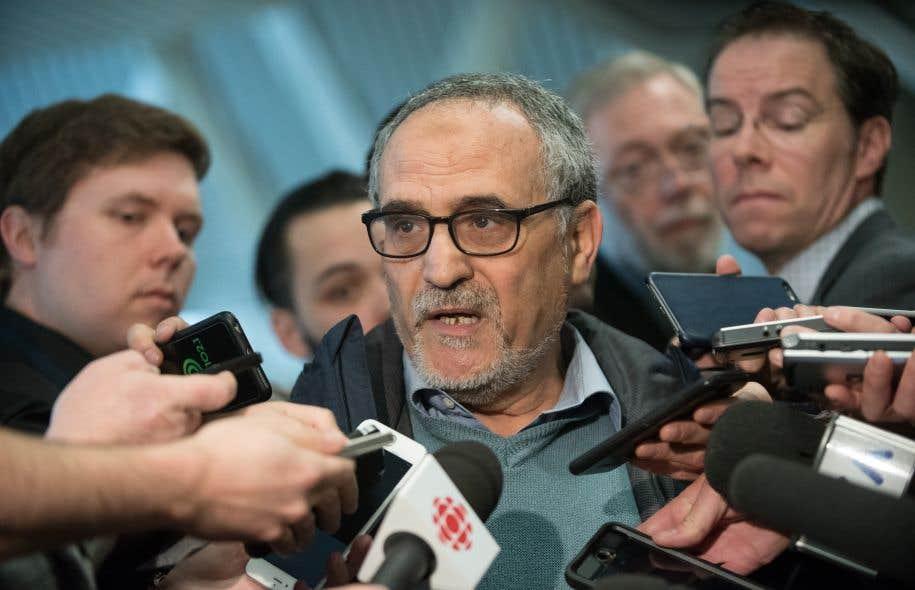 Le vice-président du Centre culturel islamique de Québec, Mohamed Labidi
