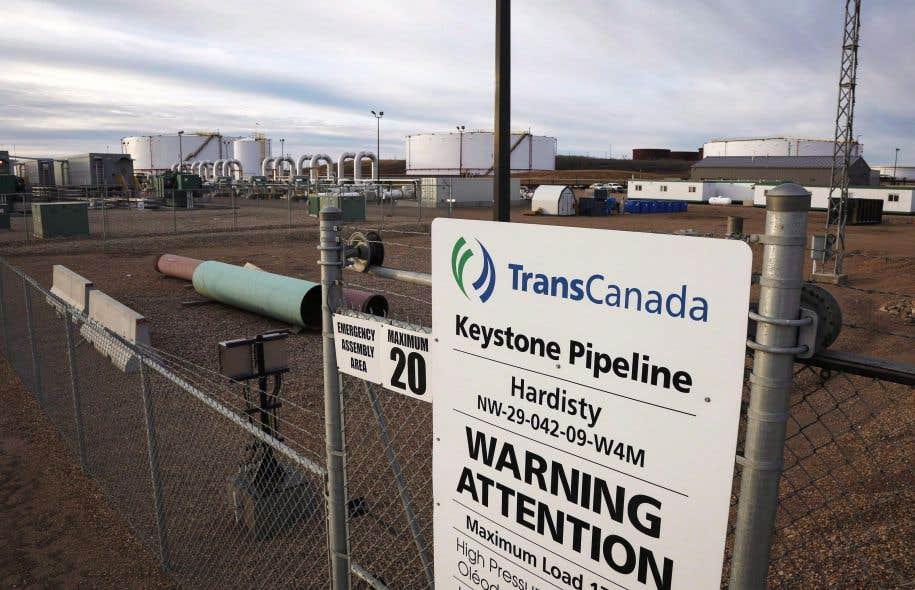 Selon M. Bernard, la décision définitive de la pétrolière albertaine concernant Énergie Est dépendra de celle qui sera prise pour un autre projet de TransCanada, soit le pipeline Keystone XL.