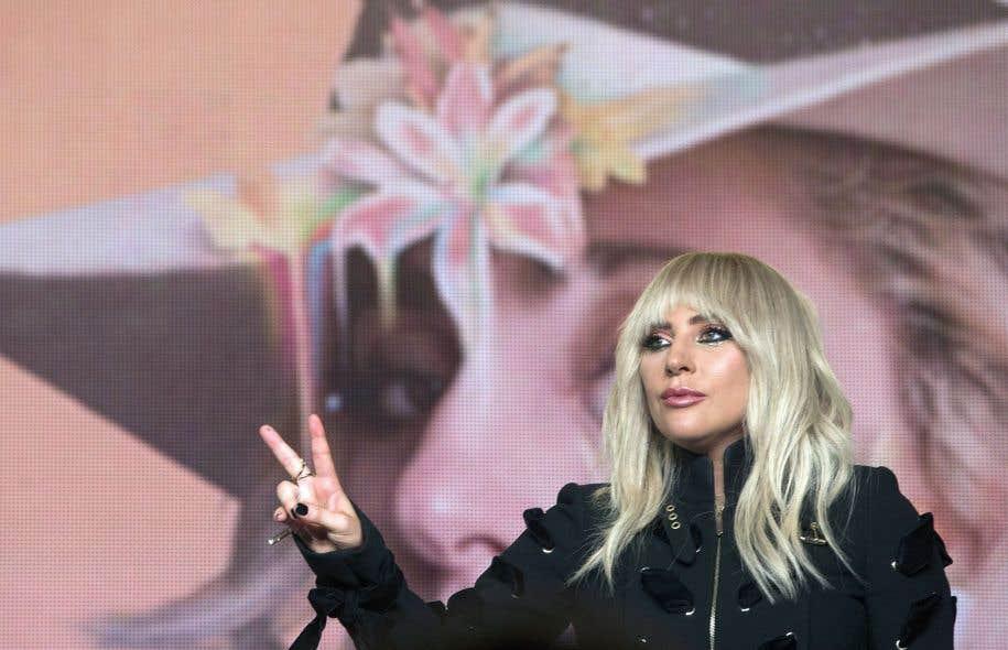 Lady Gaga a rencontré la presse, vendredi, au Festival international du film de Toronto.