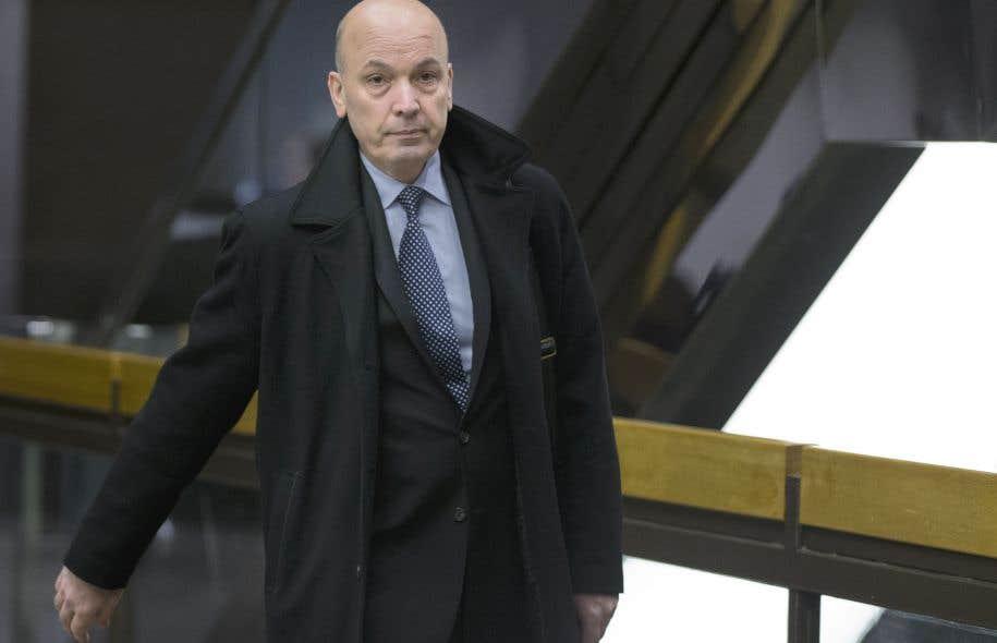 L'ex-numéro2 de la Ville de Montréal est accusé de fraude, d'abus de confiance et de complot dans le dossier du Faubourg Contrecœur, un projet immobilier réalisé par Construction F. Catania.
