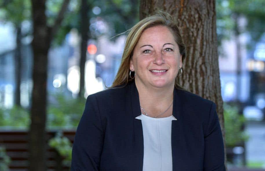 Danie Deschênes, mairesse de Notre-Dame-de-l'Île-Perrot depuis 2014