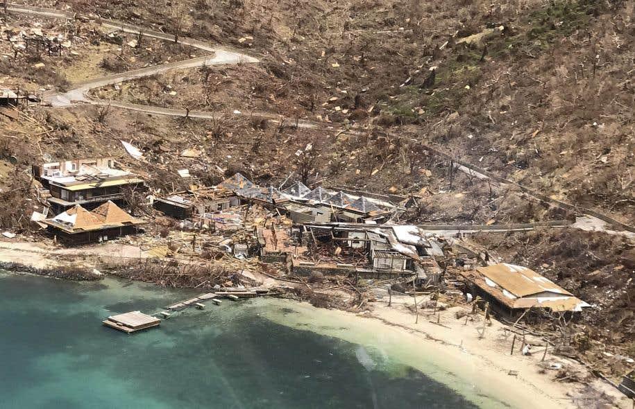 L'ouragan «Irma» avait déjà causé de nombreux dommages aux Îles Vierges britanniques, qui s'attendent à être la cible de «Maria».