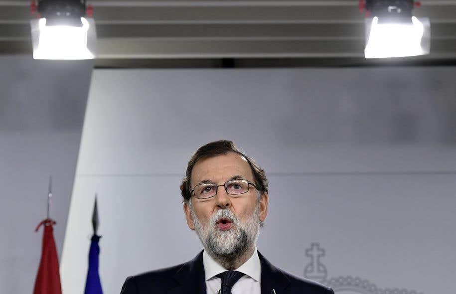 Mariano Rajoy, le chef du gouvernement espagnol