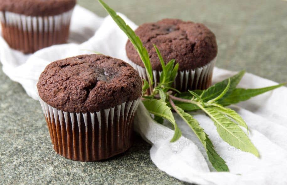 46,1 %des personnes interrogées considéreraient l'achat de muffins, brownies ou pâtisseries au cannabis à l'épicerie, si cela était légalisé.