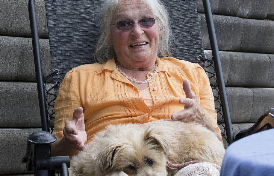 Les opioïdes ont calmé ses douleurs, mais Denise Vachon en est devenue dépendante.