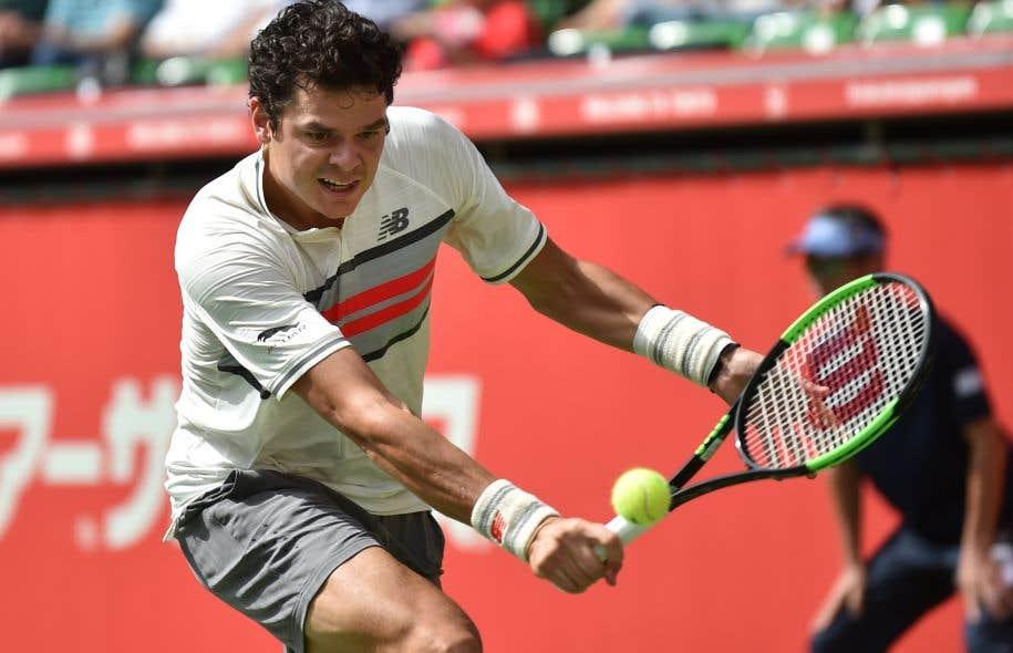 Le joueur de tennis Milos Raonic