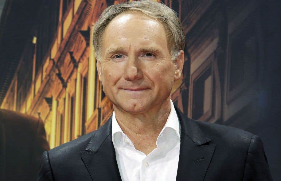 L'auteur Dan Brown photographié à Berlin en octobre 2016