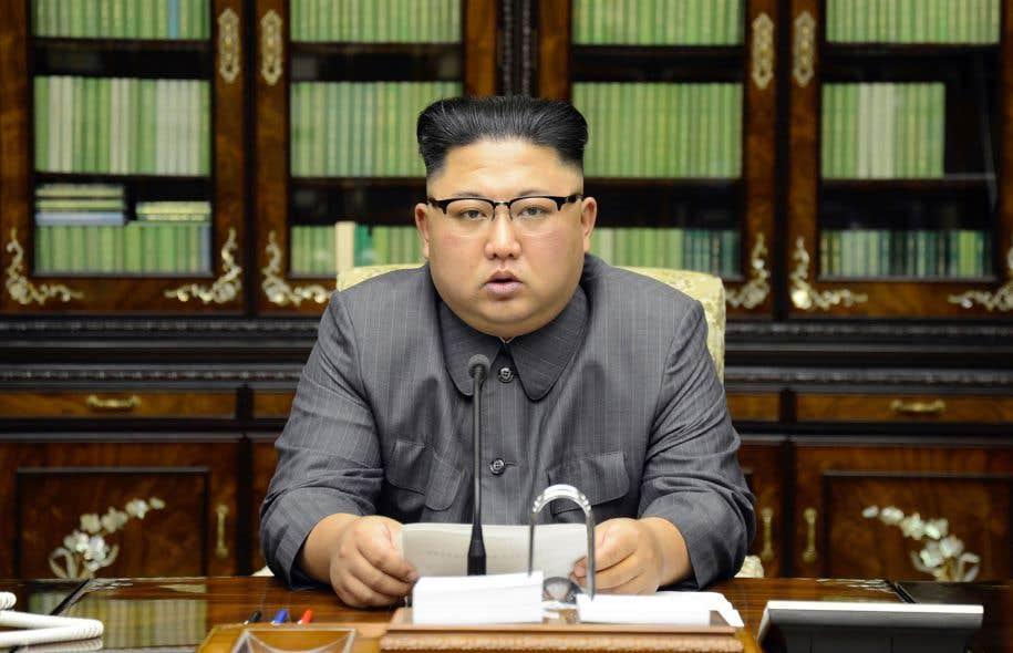 Le chef de l'État nord-coréen, Kim Jong-Un