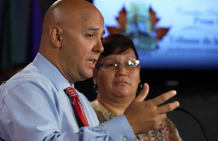 Duane Morrisseau-Beck et Colleen Cardinal, respectivementdirecteur et coordonnatrice du National Indigenous Survivors of Child Welfare Network.