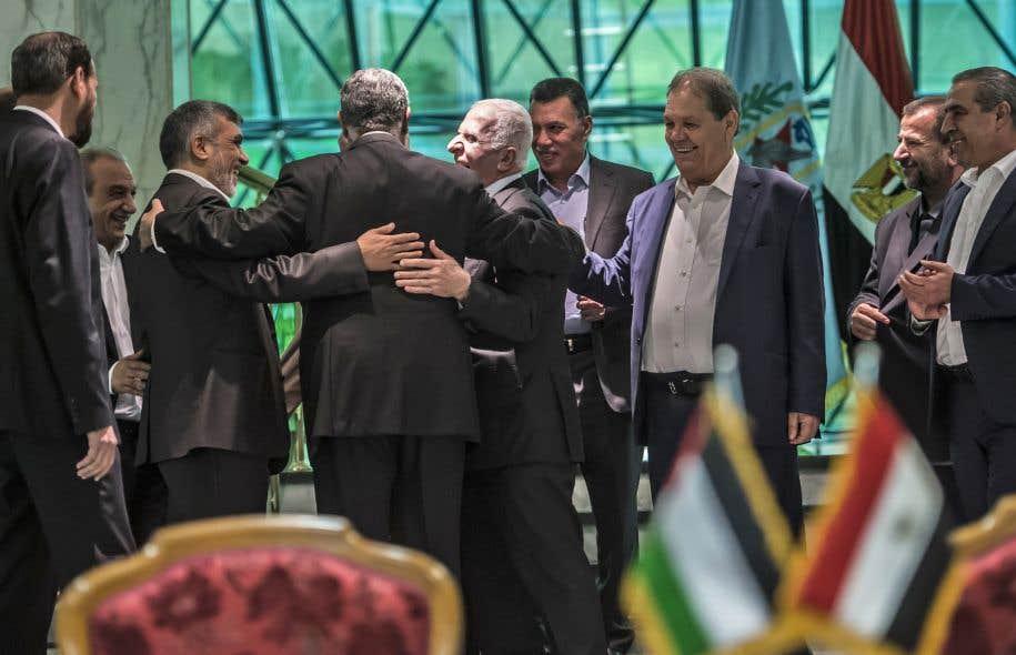 L'accord de réconciliation entre le Hamas et le Fatah a été signé jeudi au Caire.