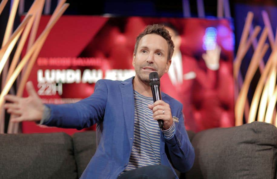 Groupe V Média suspend Éric Salvail