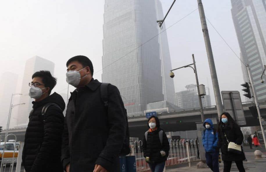 Dans les pays en voie d'industrialisation rapide, comme la Chine, jusqu'à un décès sur quatre pourrait être lié à la pollution.