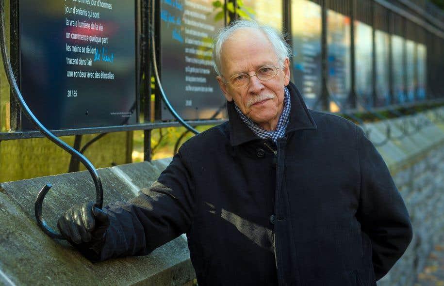 Pierre Morency continue de filer patiemment son œuvre, en même temps qu'il continue de souhaiter pour la poésie une place plus forte dans la cité.
