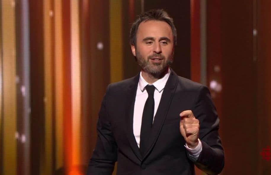 L'humoriste et animateur du gala de l'ADISQ, Louis-José Houde