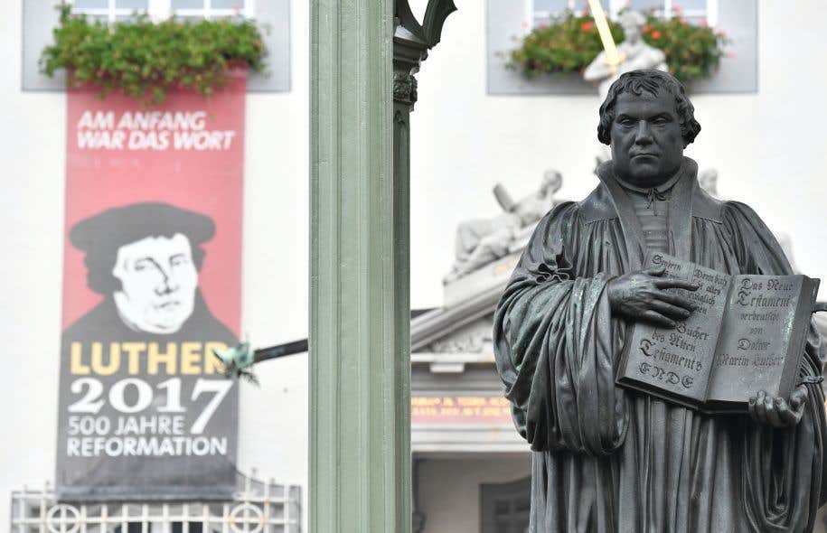 La ville allemande de Wittenberg, berceau de la rébellion fondatrice de Martin Luther