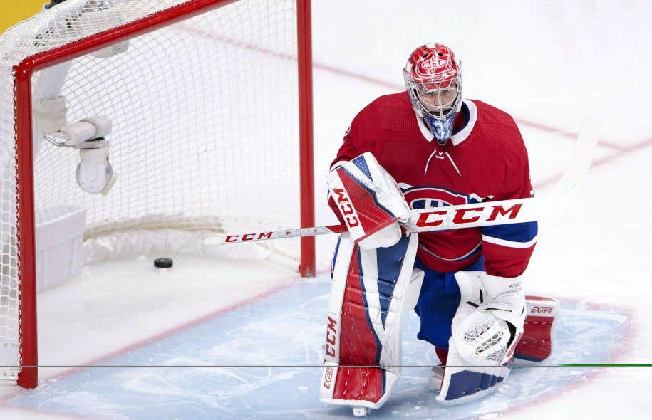 Le gardien du Canadien Carey Price