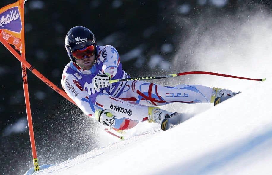 Le skieur alpin français David Poisson est décédé lors d'un entrainement au Canada.