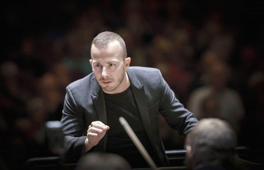 Le chef de l'Orchestre Métropolitain, Yannick Nézet-Séguin