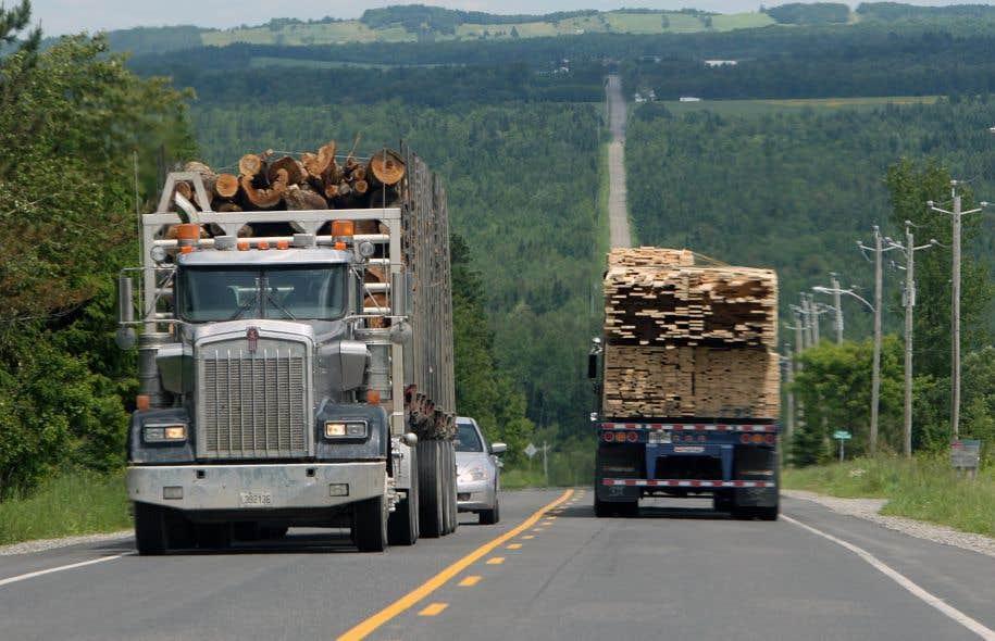 <p>Le secteur du transportlourdreprésente aujourd'hui 11,2% de tous les gaz à effet de serre du Québec.</p>