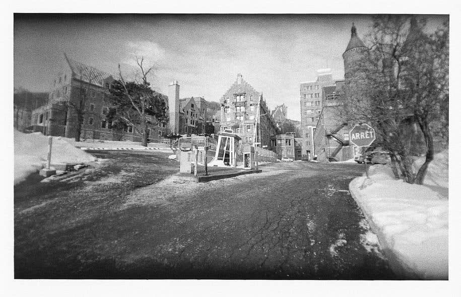 «Hôpital Royal Victoria, Montréal, 3 février», par Yan Giguère