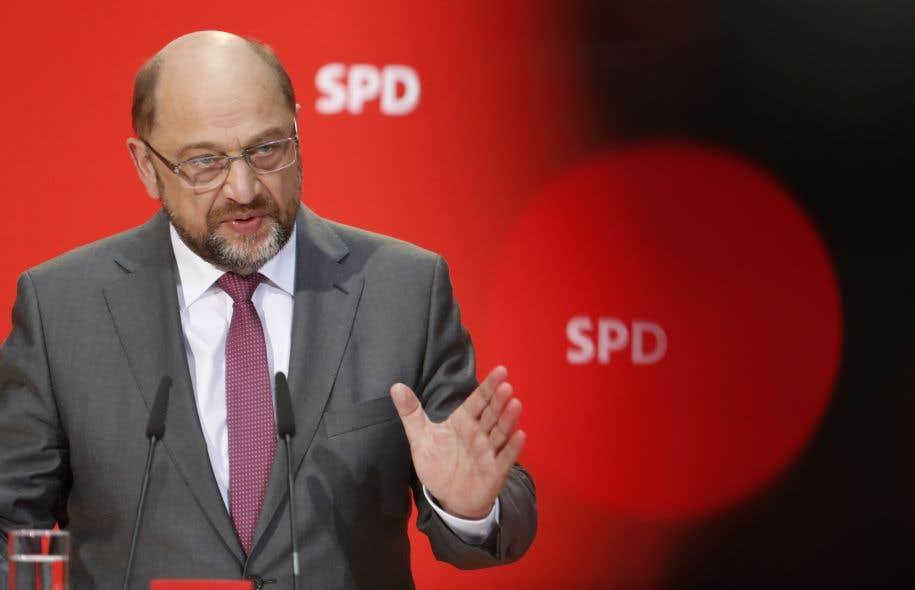 Le chef du Parti social-démocrate, Martin Schulz