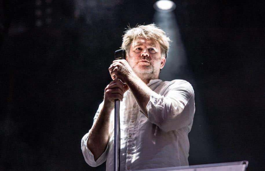 L'auteur-compositeur James Murphy de LCD Soundsystem