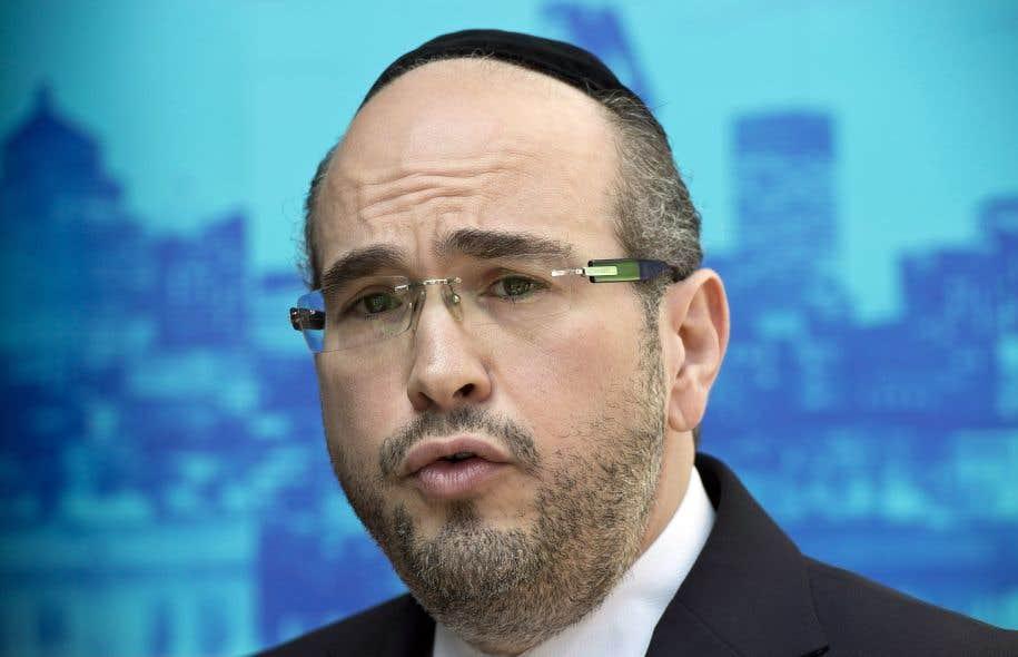 Le chef intérimaire du parti, Lionel Perez
