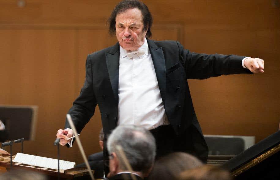 Le maestro Charles Dutoit à Montréal en février 2016
