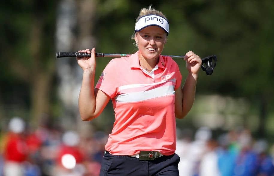 La golfeuse a terminé sixième au classement des boursières, ayant amassé un peu plus de 1,5million $US, et 14e au classement mondial.