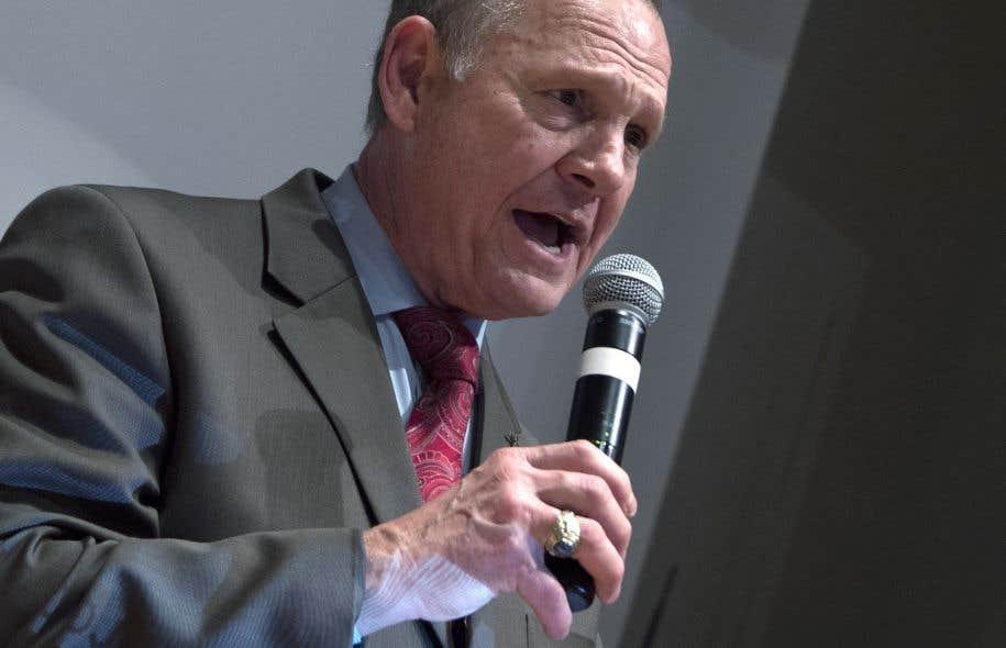 Roy Moore a obtenu 48,34% des voix à l'élection du 12 décembre.
