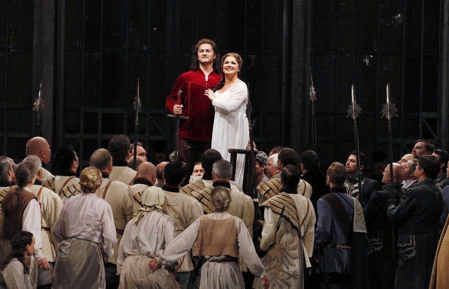 «Lohengrin», un opéra de Wagner dans une belle production érudite et formidablement chantée: on ouvre grand les yeux et les oreilles.