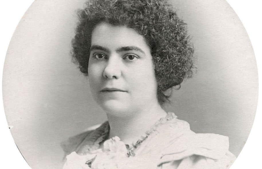 Éva Circé-Côté: détail de l'équipe de rédaction du <em>Pionnier</em> d'octobre 1901