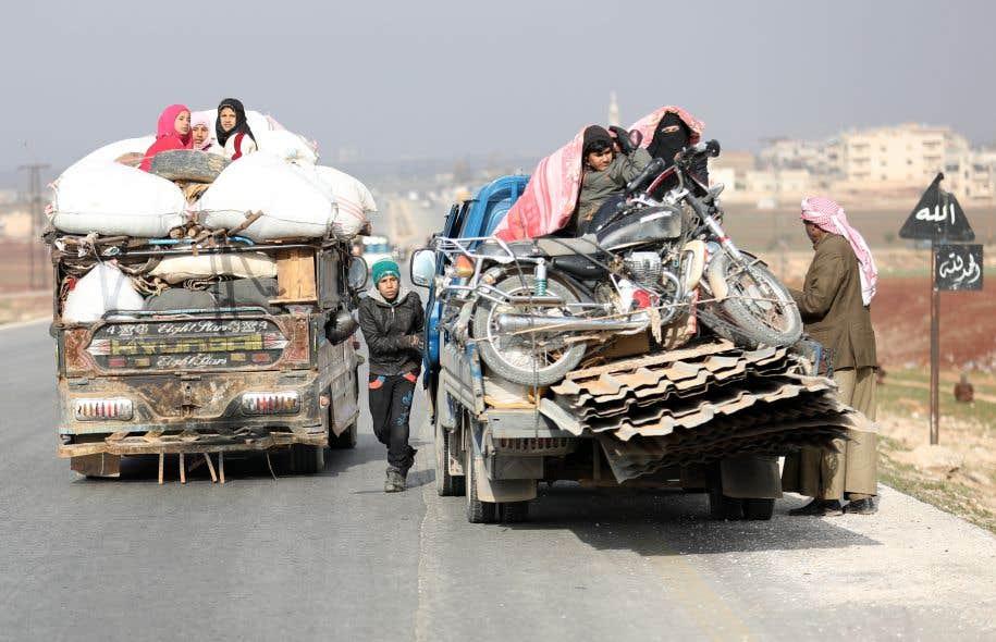 L'armée progresse dans le nord-ouest — Syrie