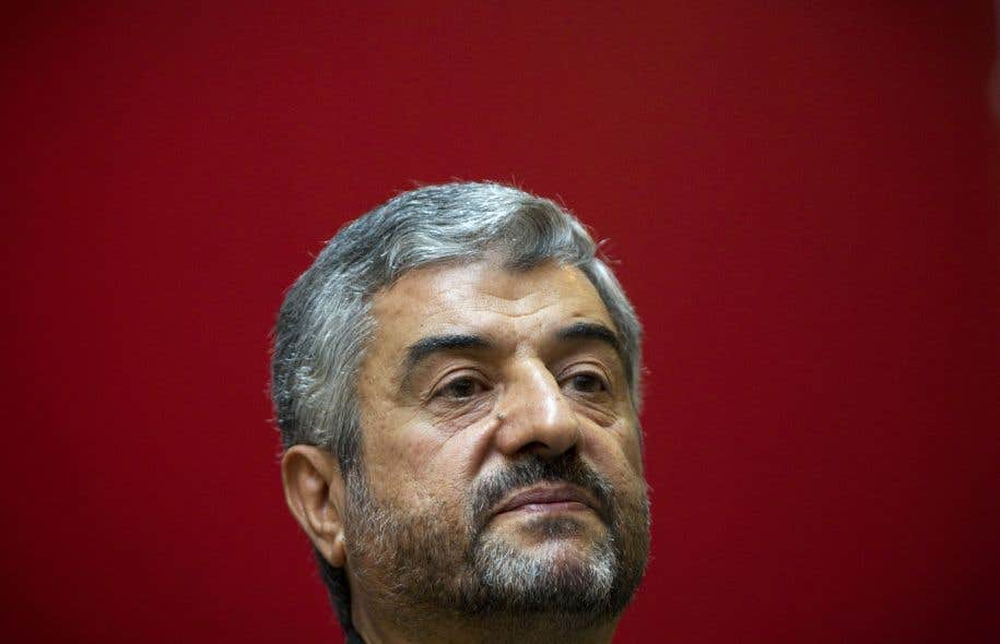 Le chef des Gardiens de la révolution iranienne, le général Mohammad Ali Jafari