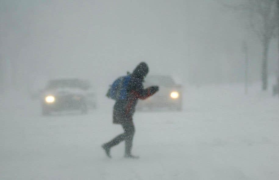 Avertissement de tempête hivernale pour le KRTB