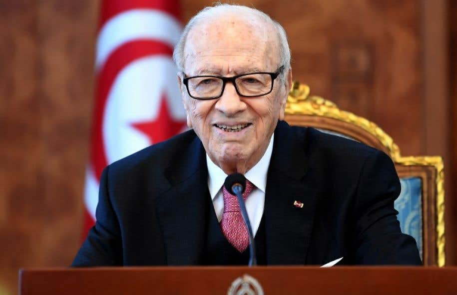 Le président tunisien, Béji Caïd Essebsi